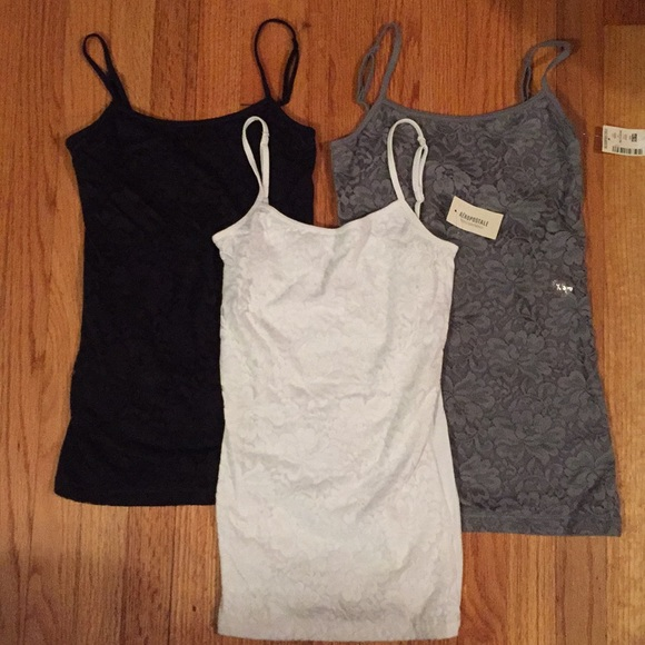 Aeropostale Womens Favorite Cami Grey